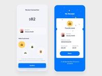 Finance App transfer-receipt
