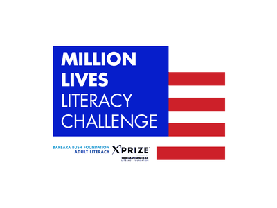 Literacy Challenge Logo Concept branding logo graphic design