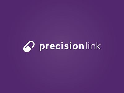 Precision Link Concept icon typography design logo design graphic  design logo