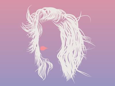 Hair Illustration Study illustrator art graphic art graphic design illustration