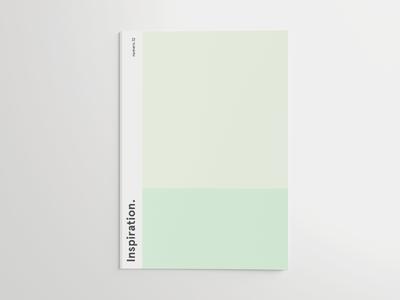 Cover Inspiration. cover magazine inspiration green editorial geometric apercu