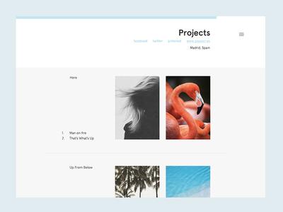 Theme theme wordpress tumblr typography web apercu projects photos minimal