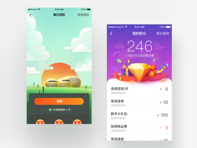 Intelligent Community_2 app community hiwow intelligent ui