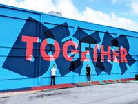 Better Together Mural w/ Trevor Wheatley