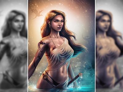 Dragon Princess khalisi game of thorne female dragon dragon princess