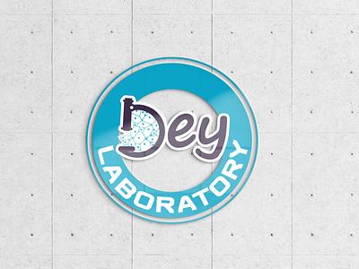 logo laboratory potoshop ps ai dey doctor laboratory lab logo design illustrator
