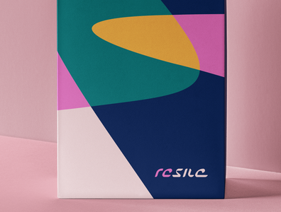 RESILE BRANDING wellbeing packaging design branding art direction