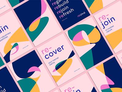 RESILE BRANDING wellbeing packaging design branding art direction