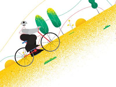 Determination (Shot6) obstacles keep on trucking determination challenging digital art art direction illustration