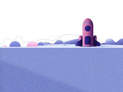 Determination (Shot12) obstacles keep on trucking determination challenging illustration art direction