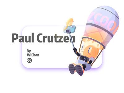 Paul Crutzen illustration