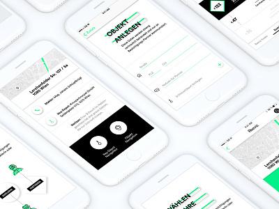 Reeviz App vienna austria brand identity branding gui app development app design uiux