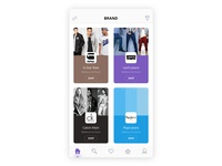 Clothing App Page