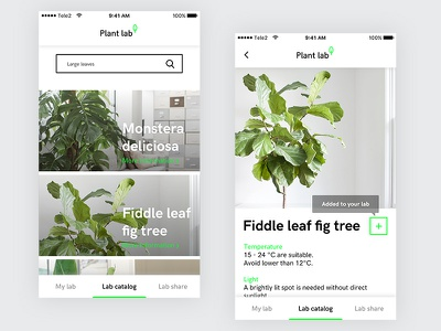 Plantlab catalog plants mobile plantlab