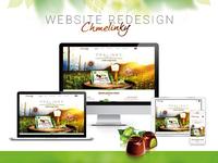 Redesign of website Chmelinky.cz