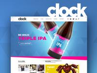 Clock beers - website