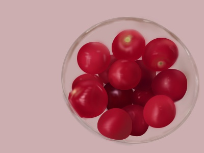 cherry tomato cherry tomato illustration