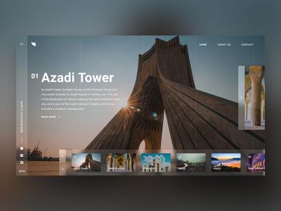 Iran Tourism - Concept