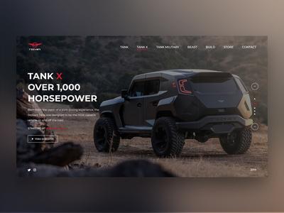 Rezvani Motors (Tank X) - Concept