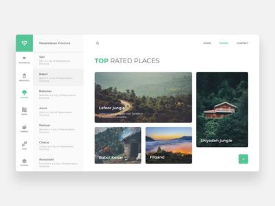Mazandaran Tourism - Concept