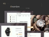 Sputnic Overview web watch uiux store sketch watches design overview