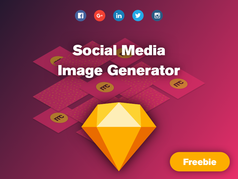 Download Free Sketch Social Images Generator