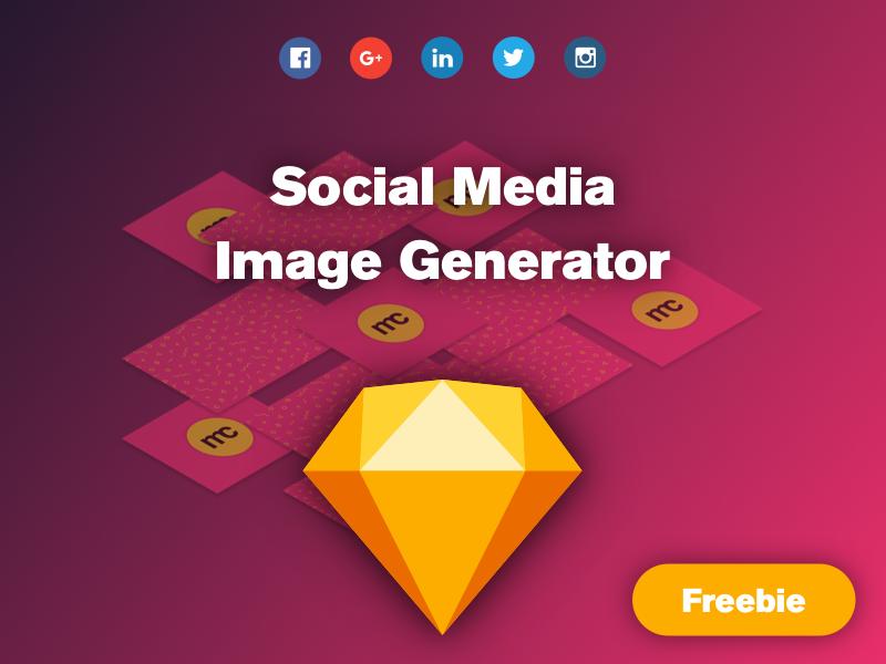 Free Sketch Social Images Generator