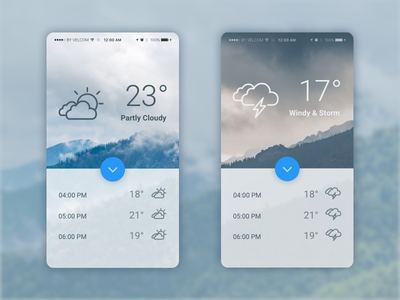Weather - Daily UI #037 - Freebie freebie free concept android ux ui sketch material flat daily ui dailyui daily
