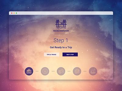 Navigation - Daily UI #053 - Freebie web daily dailyui minimalistic free freebie sketch navigation
