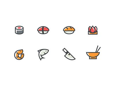 Icon Set - Daily UI #055 - Freebie app daily dailyui minimalistic free freebie sketch icons