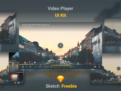 Video Player - Daily UI #057 - Freebie