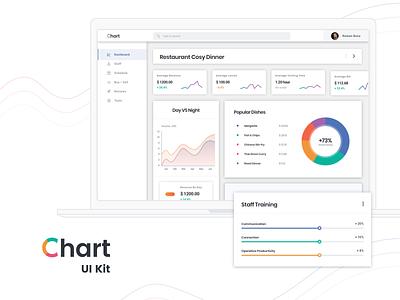 Restaurant Business Analytics Software web free sketch legend progress pie donut plot chart linear