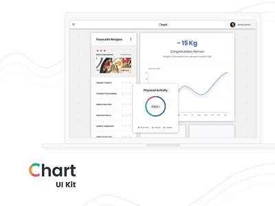 Fitness software summary screen fitness web free sketch progress diagram donut plot chart linear