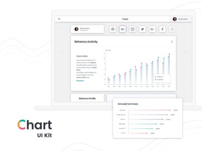 Social network activity interface web free sketch legend pie donut plot chart comparison linear