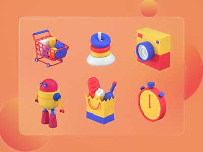 4000+ 3D Styled icons in 4k resolution and figma files icon freebie free design download icons vector
