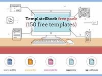 Free 150 Diverse Templates Pack