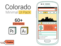 Colorado: 30+ Free Items Minimal UI Pack