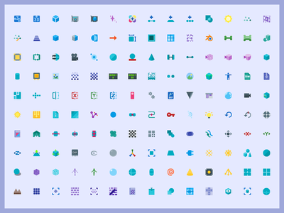 +5000 FREE Material 3D Graphics Icon Set png svg illustrator ai vector design graphics 3d material freebie icons free