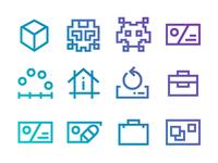 Windows10 Web Design Icons