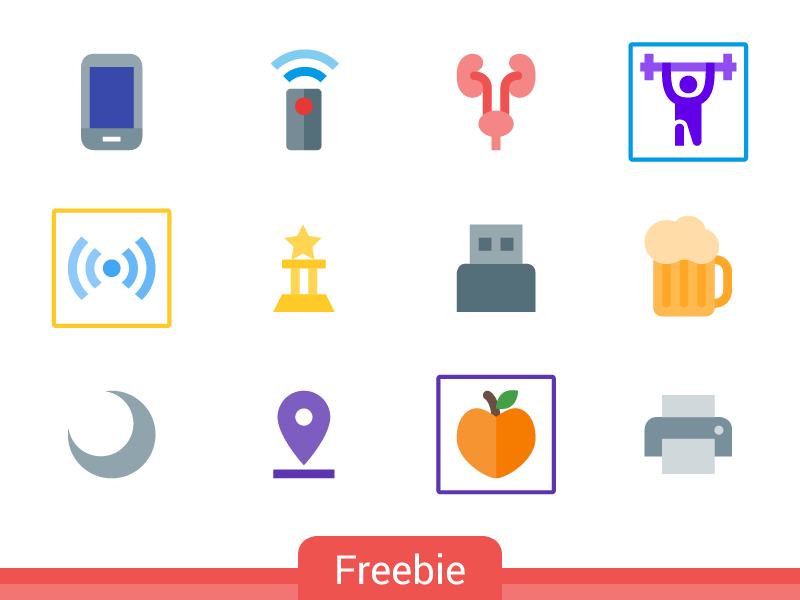 Freebie: 500 Material Free Icons