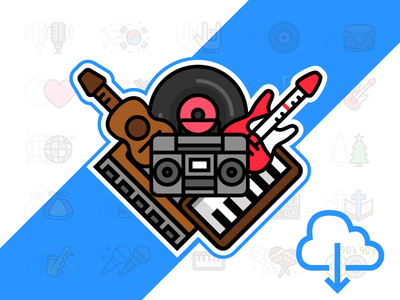 Music Genres free icons