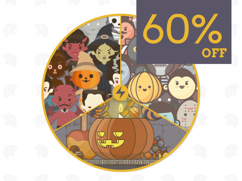 Halloween vector pack offer