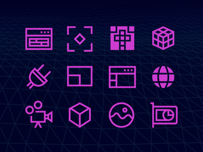 Windows 10 3d Graphics icons graphics 3d line freebie svg vector download glyph free icons icon windows