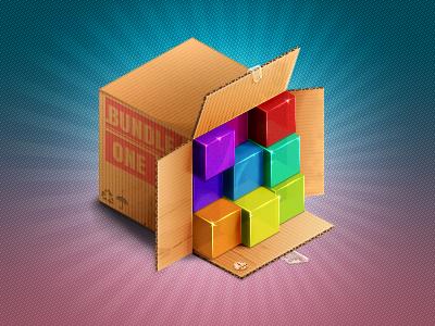 Box of bundles dribbble