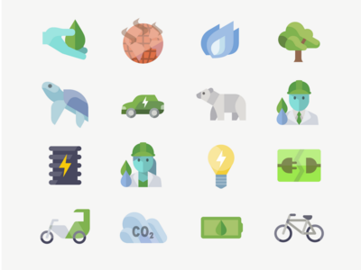 Free Global Warming Prevention Icons