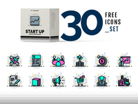 Free Business Startup Icons