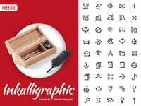 Free Inkalligraphic Vector Icons
