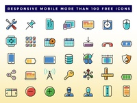 Responsive Mobile Icon Dribbble