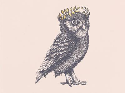 Mad Nature Volume II identity brand logo owl illustration design graphic