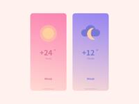 037 Weather weather 2020 visualdesign ui dailyui uidesign
